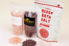 天然岩塩のバスソルトの商品写真