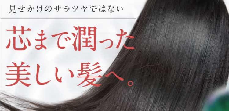 芯まで潤った美しい髪へ