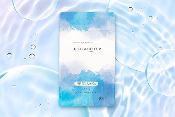 プラセンタサプリ「ミナモア」の商品写真