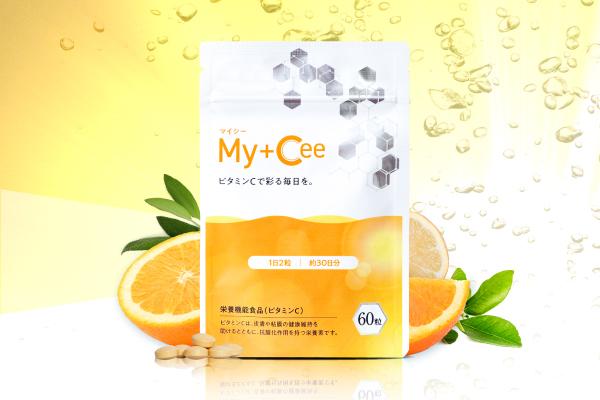 吸収力と持続力にこだわったビタミンCサプリメント【My+Cee(マイシー)】 | さくらの森 公式通販