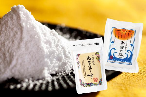さくらの森のぬちまーす,粟国の塩は逸品屋の塩です